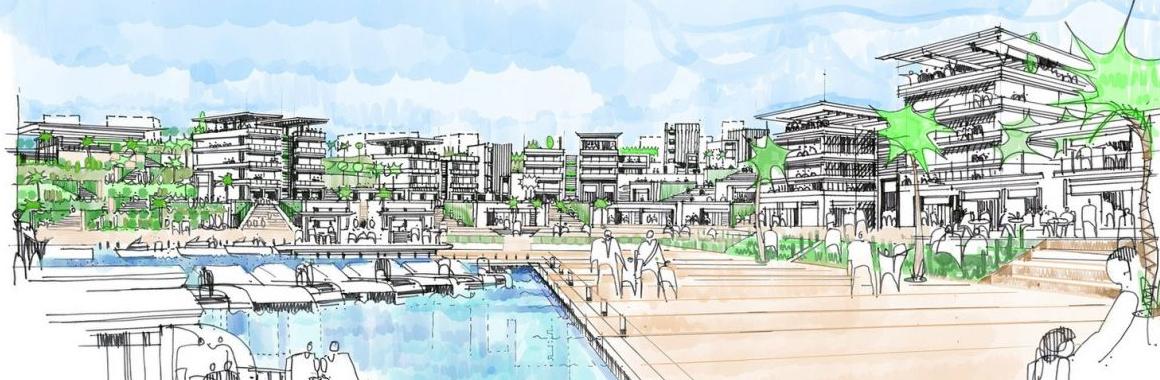 埃及海滨地中海发展总体规划