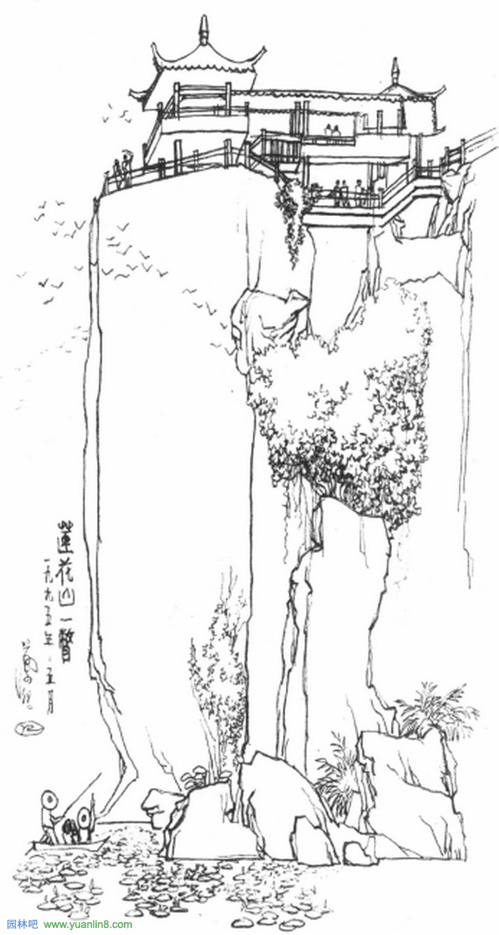 [人物]园林手绘画教师叶理简介