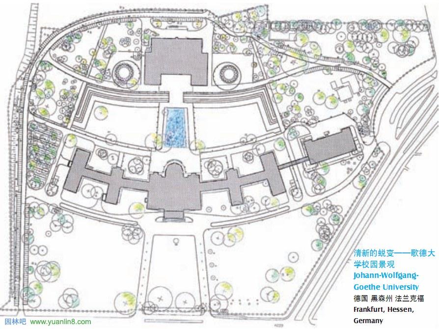 校园景观设计图纸连载 四