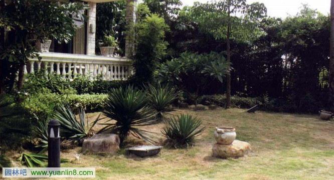 私家庭院景观设计案例 水剧场