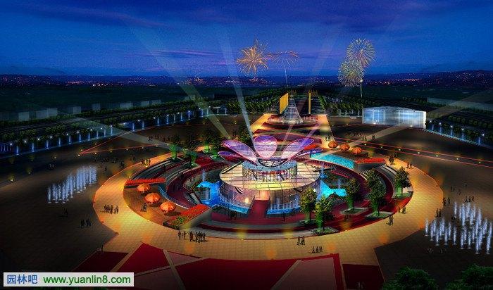 漳州人民廣場景觀規劃設計方案