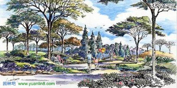 园林景观设计的8大要点 转 ,手绘景观设计图例
