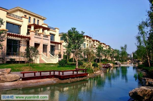 杭州绿都 湖滨花园一期室外景观工程效果图