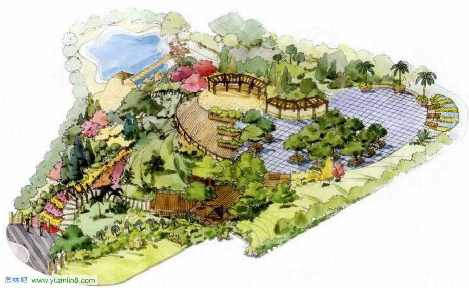 [快题]园林景观快题设计的技能要求-绘图技能