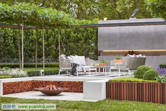 澳大利亚equilibrium花园外部实景图