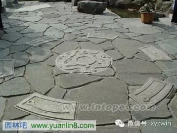 园林卵石道路铺装工艺及方法