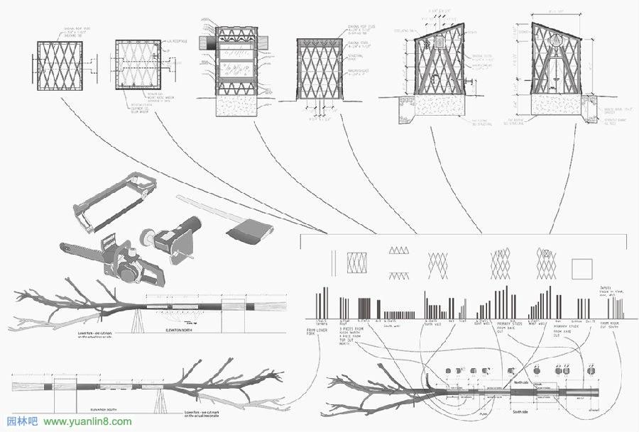 用筷子做船结构图