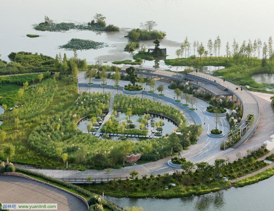 四川遂宁千年城市江岸区域城市水系规划设计