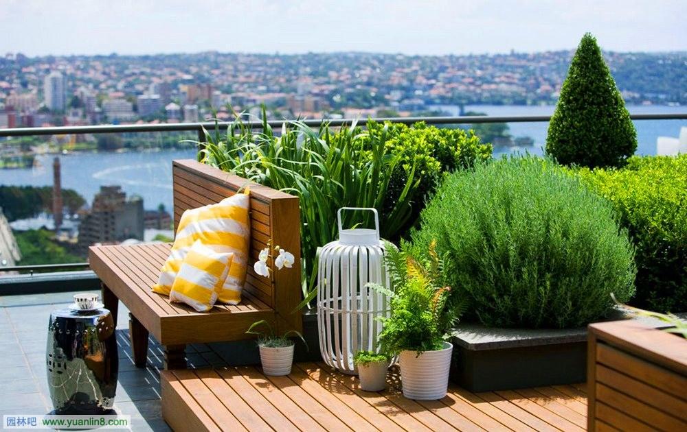城市屋顶花园景观设计