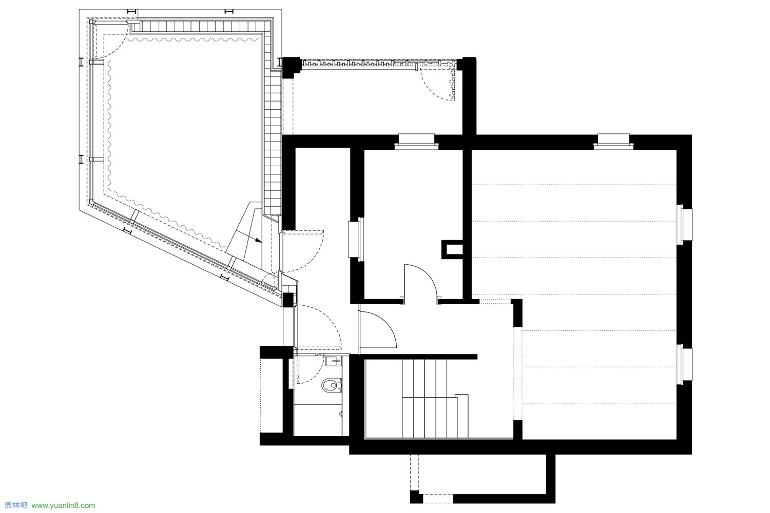 HHF-W130-house_s-drawing-01-base_level