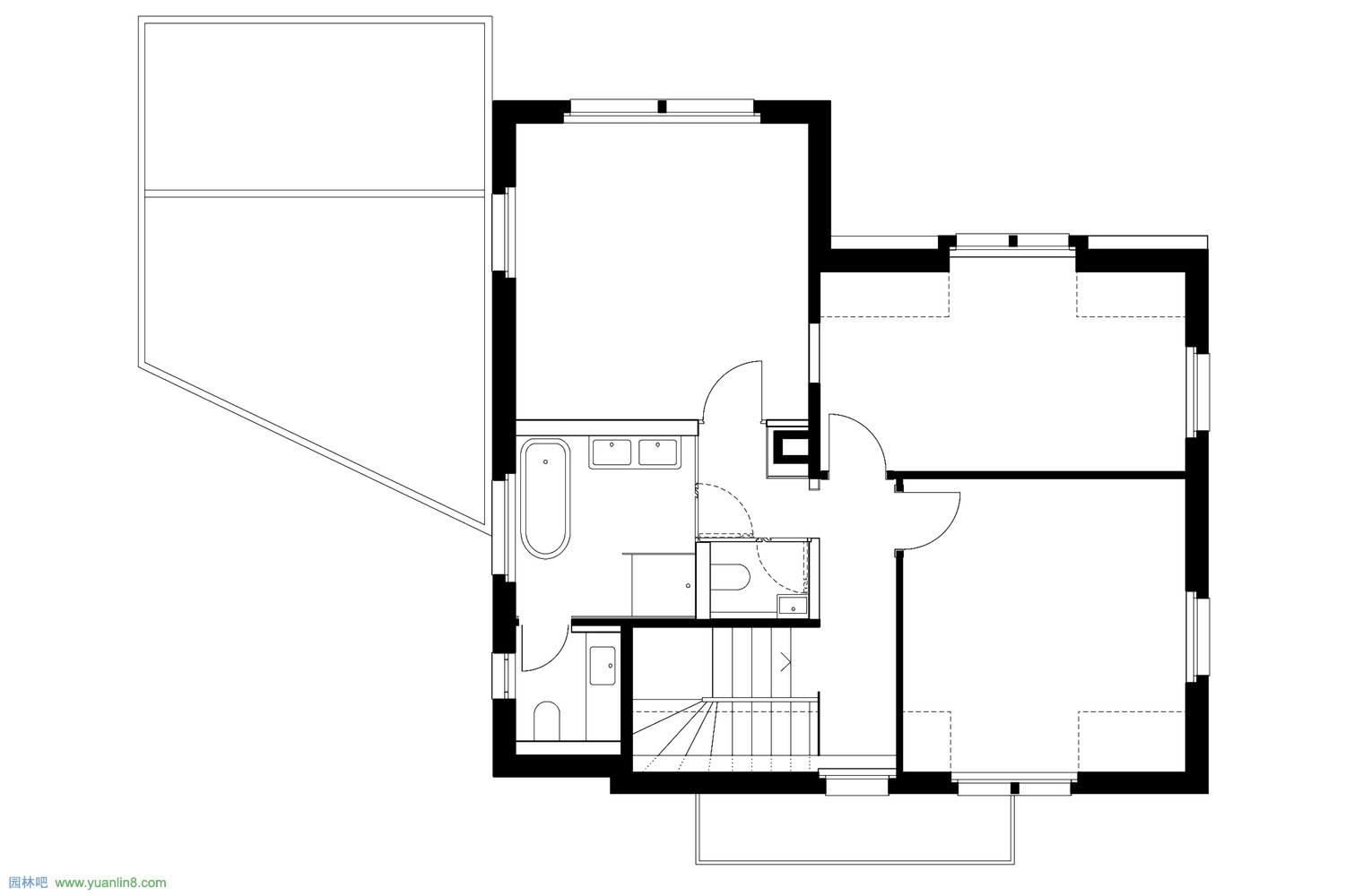 HHF-W130-house_s-drawing-02-upper_floor