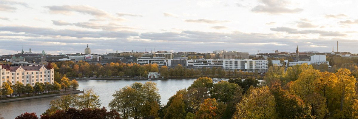 EY Finland headquarters and apartment buildings