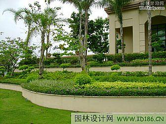 北京园林景观设计院_某城市住宅小区植物配置(图)-景观规划_园林吧