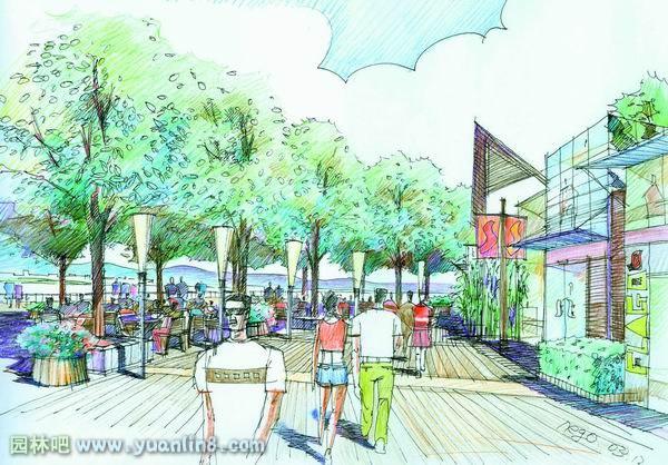 园林吧 规划设计 > 手绘滨水景观设计  手绘作品  更多 扩展