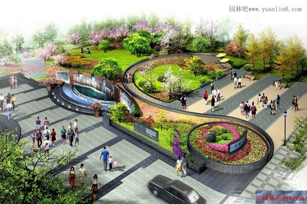 景观效果图设计图的相关知识(附实景组图)-园林吧