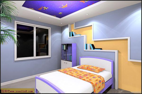 室内客厅,厨房,卧室,书房设计效果图素材-室内设计_园林吧