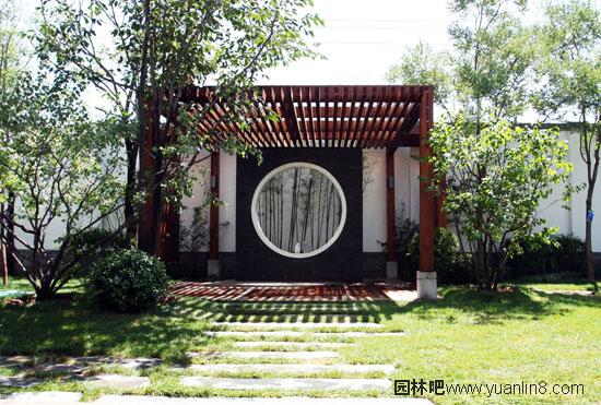 """成功案例:北京泰禾""""别墅岸上的运河""""江浙沪v别墅院子图片"""