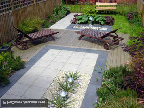 屋顶花园实景实拍,手绘效果组图-景观规划_园林吧