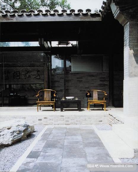 枯山水庭院介绍,枯山水设计图实景图,日式庭院图欣赏