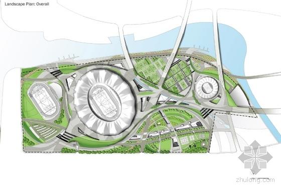 体育公园设计图展示