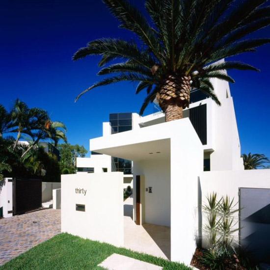 景观前沿:澳大利亚皇后岛航海家住宅设计(图例)