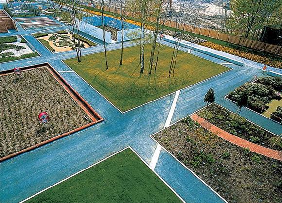 工业区设计图-工业园区景观设计效果图,鸟瞰图