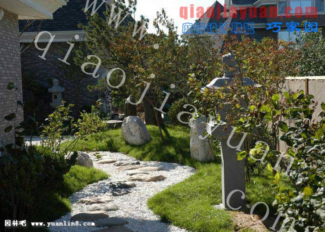 ]   > 日式庭院设计图欣赏组合图[一]   规划设计   园林吧