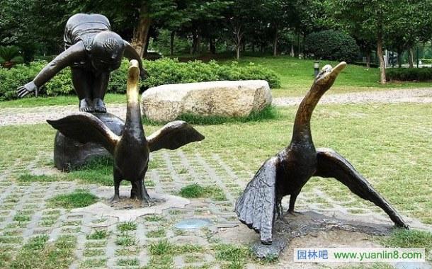 武汉某公园雕塑组图欣赏
