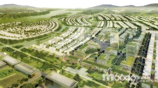 """山丘生态村庄设计主要体现了生态自然的理念,马克思曾指出,人本身是自然界的产物,是在自己所处的环境中并且和这个环境一起发展起来的,""""是人创造环境,环境创造人""""思想的写照。   在这项设计中保证了水质、人行通道和混合使用的分层地区,创造了一个经济实惠、环境友好的村庄设计。   村庄的整体规划考虑到了防洪措施,这项设计要求大范围的种植绿化带,这样不仅可以提供娱乐空间,同时在雨水流入河水的之前,就将其吸收和过滤掉。贯穿整个村庄的通道都十分隐蔽,只允许非机动车辆使用,大面积的沿河地区会得"""
