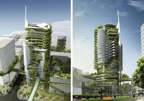 - Immeuble ecologique ...