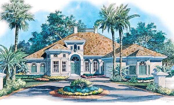 房屋建筑手绘图