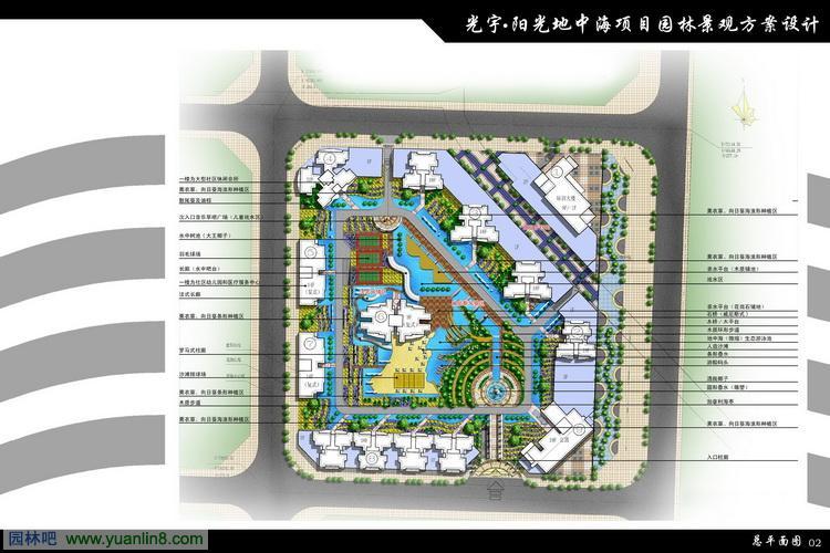 设计平面图_景观园林快题设计_园林快题设计作品集_园林平面图手绘