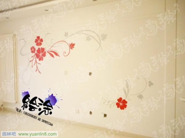 手绘表现,手绘墙,手绘影视墙
