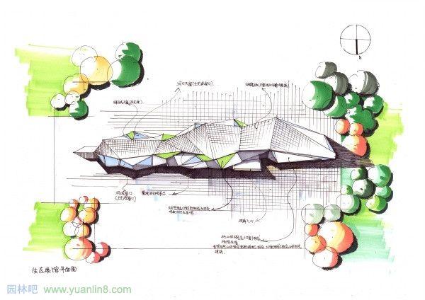 杜健老师建筑手绘设计大赛一等奖作品