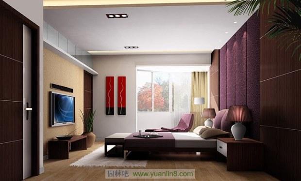 现代住宅的发展,小家庭的组建,人们心理上的要求,希望卧室具有私密性、蔽光性,配套洗浴,静谧舒适,与住宅内其他房间分隔开来。卧室可能是整套房子中最私人的空间,你可以完全根据自己的想法来设计,不必去考虑别人的看法。纯粹的卧室是睡眠和更衣的房间,但是更确切地说卧室是一个完全属于主人自己的房间,在这里读书、看报、看电视、写信、喝茶等等,当你不愿被他人打扰时你就会躲进卧室里。所以,设计卧室时首先应考虑的是让你感到舒适和安静。   但限于我国国情,我们的住宅卧室设计还不能完全做到上述这些要求。就目前的条件,设计较