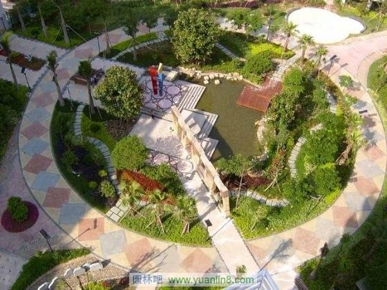 别墅园林景观鱼图片 别墅园林景观设计 别墅园林景观平面图图片