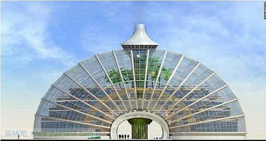 能电池板_未来概念性建筑设计组图欣赏-建筑设计_园林吧