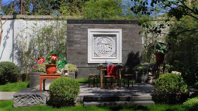 欧式别墅景观 景观规划_园林吧