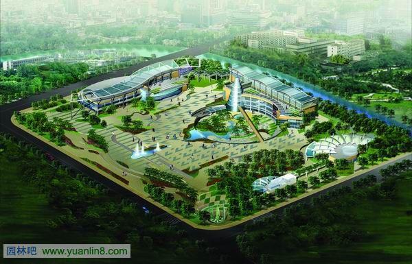 景观平面设计图手绘 校园景观平面设计图 广场景观