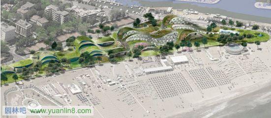 意大利里米尼海滨景观设计(图)