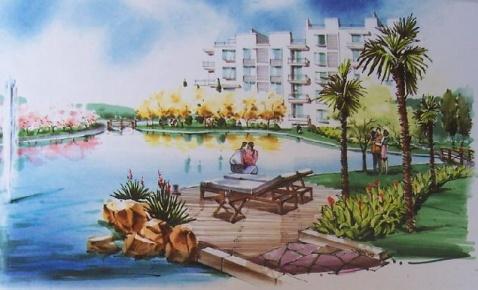 马克笔的景观世界之表现的基本作画步骤