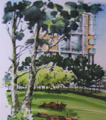 园林吧 园林手绘 > 马克笔的景观世界之景观元素的表现技法  5.15.2