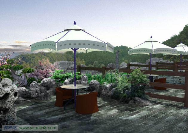 私家花园设计,私家庭院设计效果图