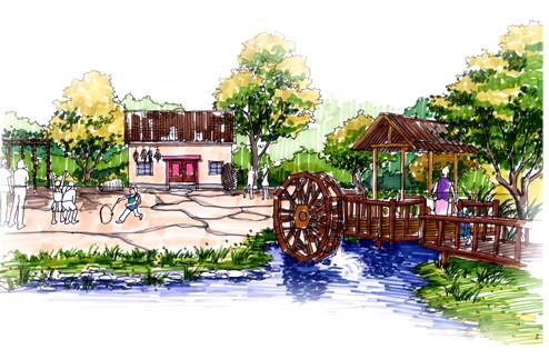 综合公园中的儿童游戏场地设计