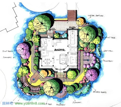 临沂市青龙河河道新房规划装修设计景观提升如何设计灯图片