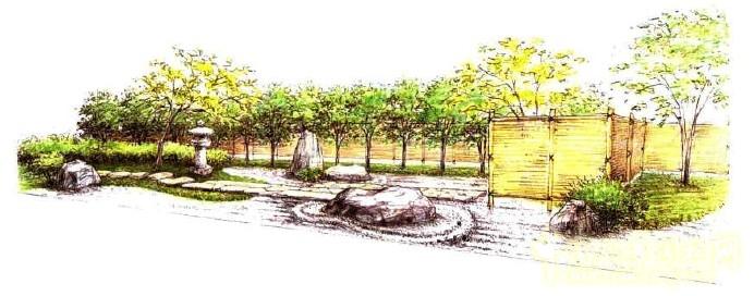 园林吧 > 枯山水大师枡野俊明作品系列-麹町会馆设计