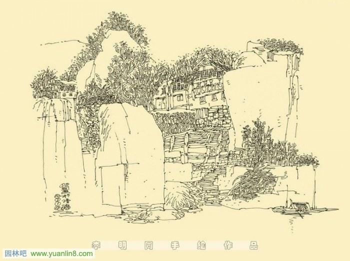 《手绘·意建筑钢笔手绘表现技法》