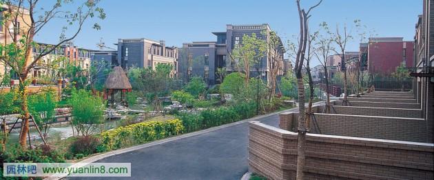 南京汤山公馆_新中式景观风格的项目方案(图)