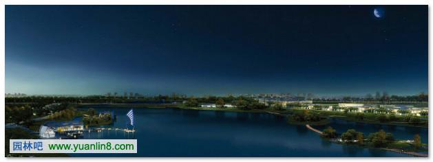 奖项名称:Idea-King艾景奖专业组银奖     项目位于山东省潍坊市白浪河的上游鸳都湖,该项目占地166公顷,其中包括水面面积78.9公顷,建设面积87.96公顷。规划以一湖八岛、四带多轴为核心,努力提高鸢都湖滨水地区的可达性,使鸢都湖能最大程度的让潍坊市民和游客享用。设计充分挖掘潍坊的民俗和历史积淀,在突出鸢都湖的人文性和城市特色的同时,注重鸢都湖和潍坊市的结合,使得整个区域都能共享鸢都湖公园的休闲功能和景观价值,从而大大提升周边地区的土地价值和品质,最终提高整个城市的活力。