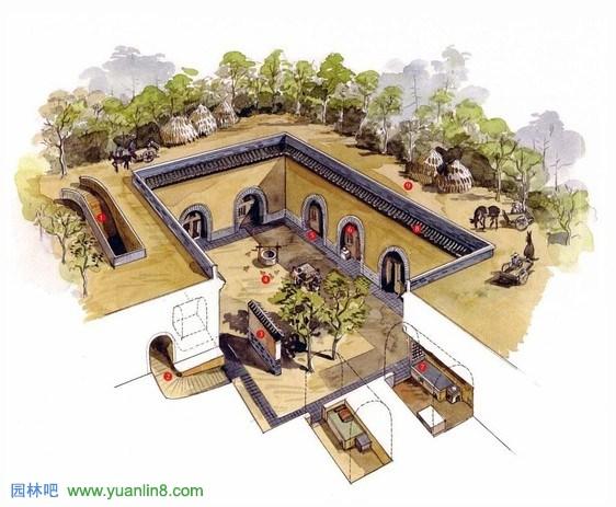 快题设计手绘资料_手绘古建筑欣赏,古建筑图片-建筑设计_园林吧